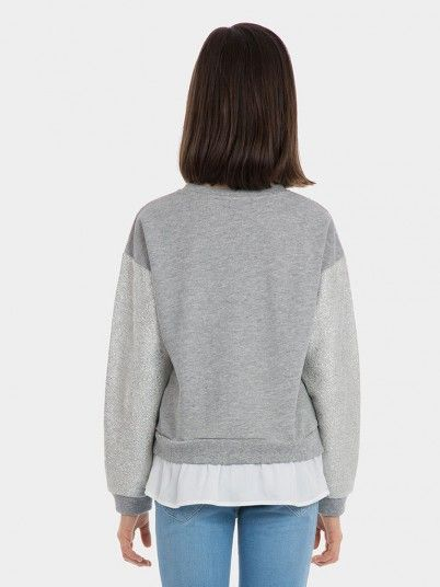 Knitwear Girl Grey Tiffosi Kids