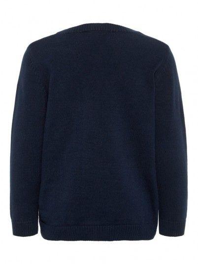 Knitwear Girl Navy Blue Name It