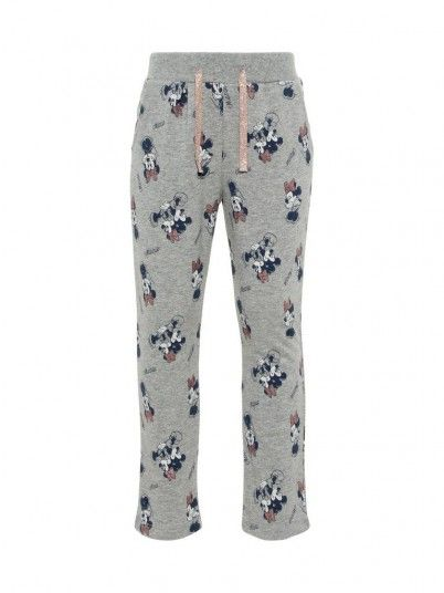 Pantalones Niña Gris Name It