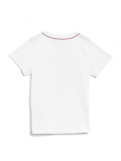 T-Shirt Boy Guess White Guess Kids