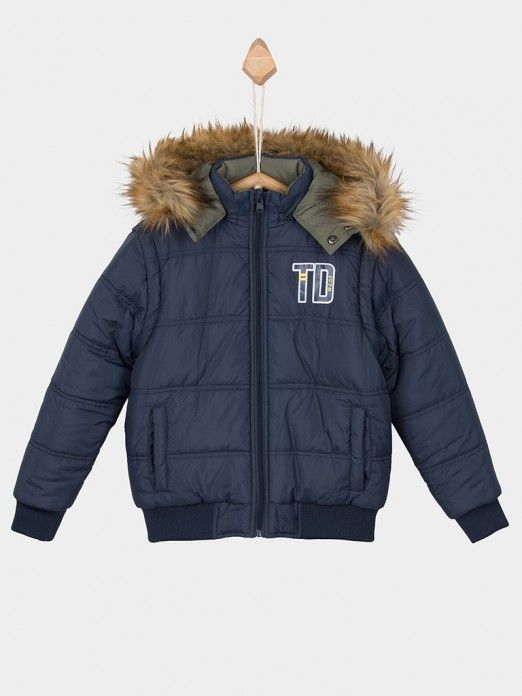 Jacket Boy Navy Blue Tiffosi Kids