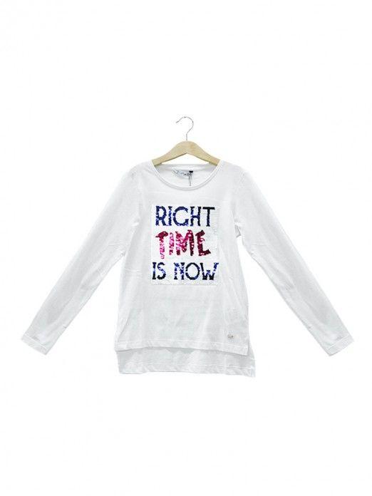 Sweatshirt Niña Blanco Tiffosi Kids