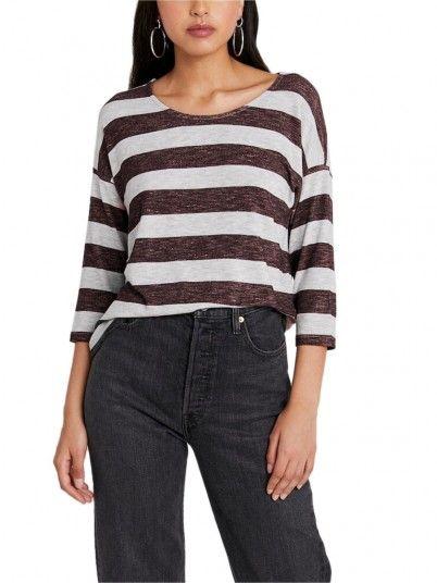 Sweatshirt Woman Bordeaux Vero Moda