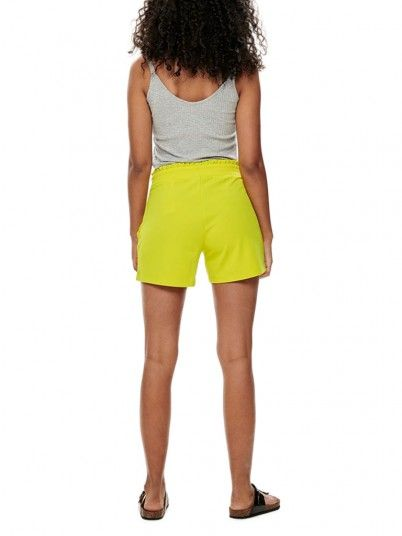 Shorts Woman Cátia Green Lemon Jacqueline di Young