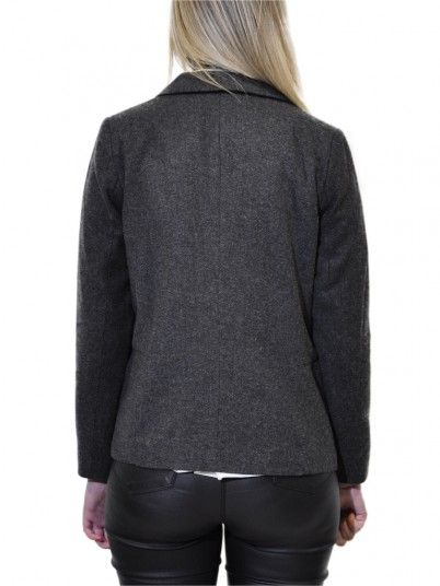 Blazer Woman Dark Grey Vero Moda