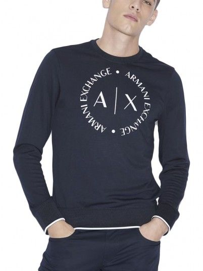 Mesh Man Armani Dark Blue Armani Exchange