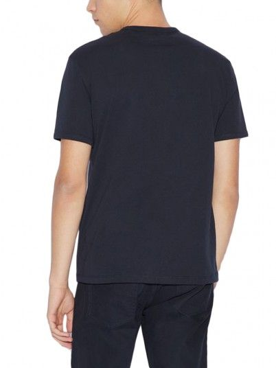 T-Shirt Man Navy Blue Armani Exchange