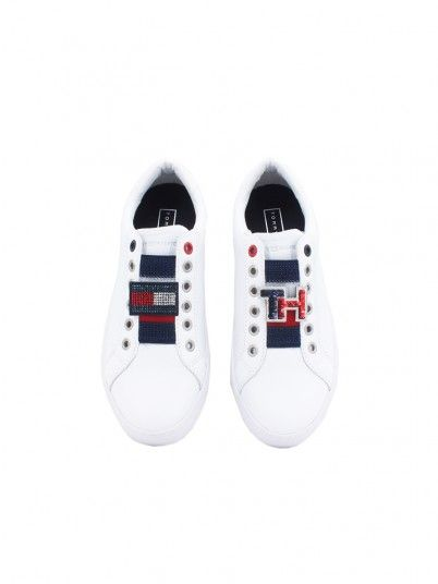 SAPATILHA MULHER CUSTOMIZE SLIP ON TOMMY JEANS