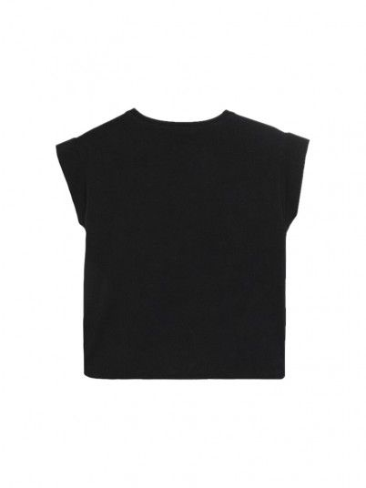 T-Shirt Girl Black Guess