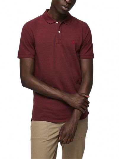 Polo Homme Bordeaux Selected