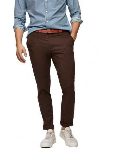 Pants Man Brown Selected