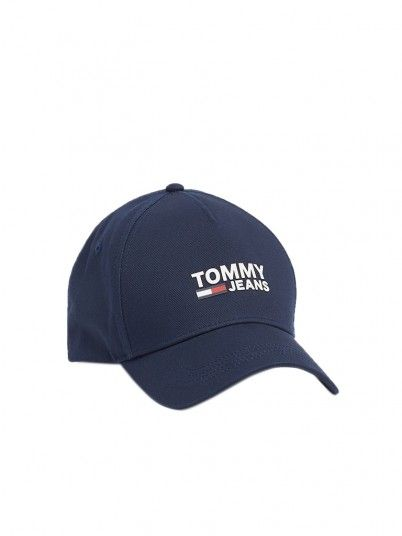 Cappello Uomo Blu Navy Tommy Jeans