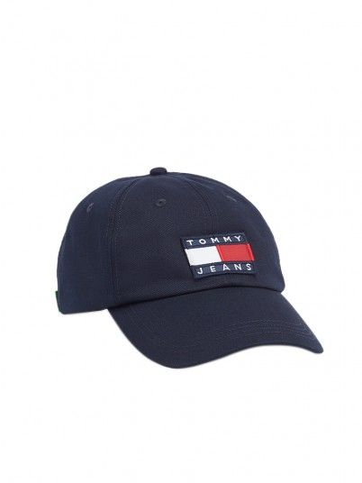 Hat Man Heritage Navy Blue Tommy Jeans