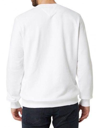 Sweatshirt Uomo Bianco Tommy Jeans