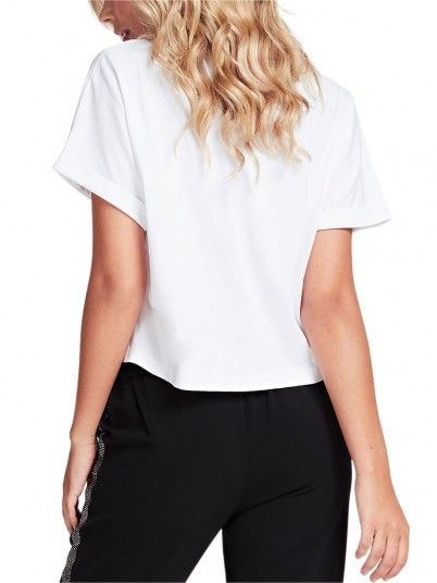 T-Shirt Woman Marlene White Guess