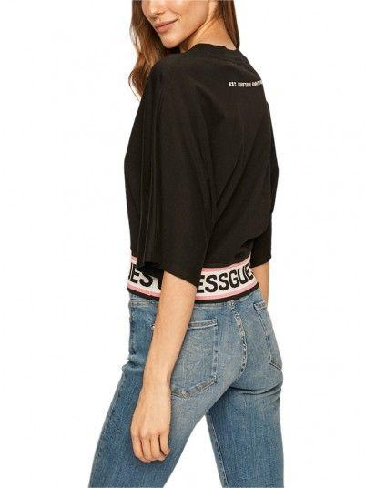 Sweatshirt Woman Black Guess