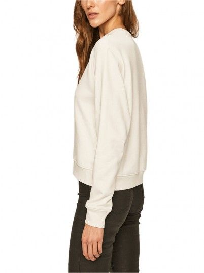Sweatshirt Woman White Guess