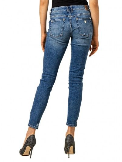 JEANS MULHER ANNETTE GUESS