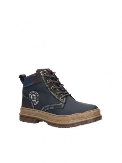 Boots Boy Navy Blue Mtng