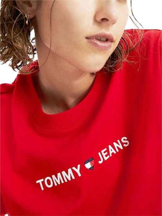 T-Shirt Mulher Liner Tommy Jeans