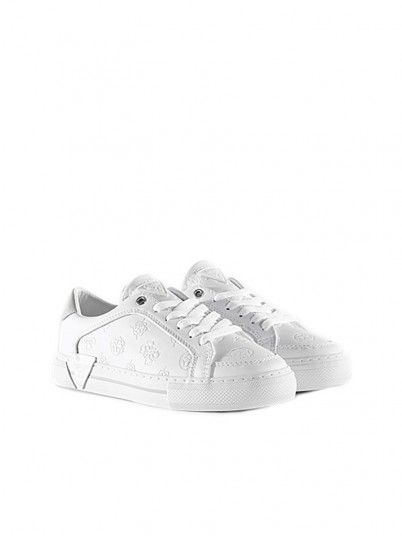 Tenis Femme Blanc Guess