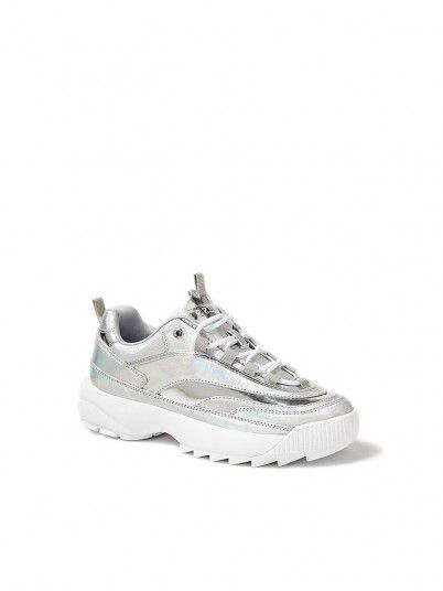 Sneakers Woman Kaysie5 Grey Guess