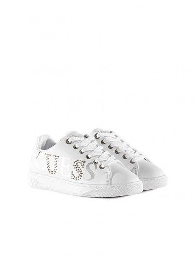 Sneakers Woman Riderr White Guess