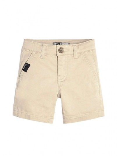 Shorts Boy Beige Guess