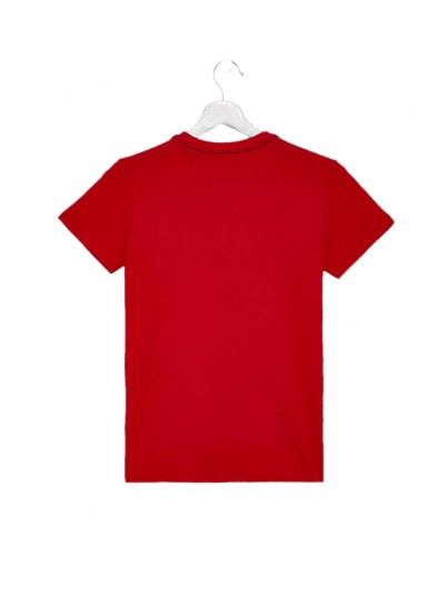 T-Shirt Boy Guess Red Guess Kids