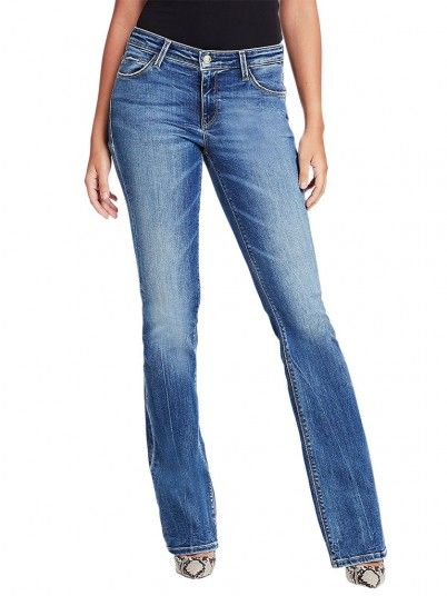 Jeans Mulher Sexy Boot Guess