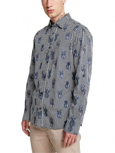 Shirt Man Fun Dark Blue Jack & Jones
