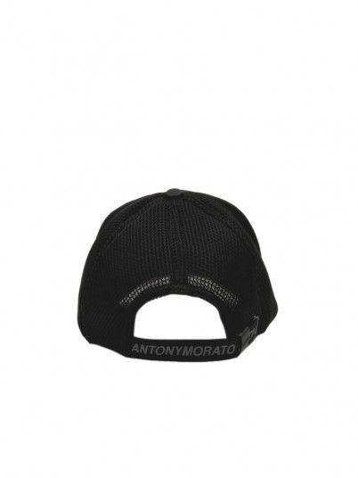Sombrero Hombre Negro Antony Morato