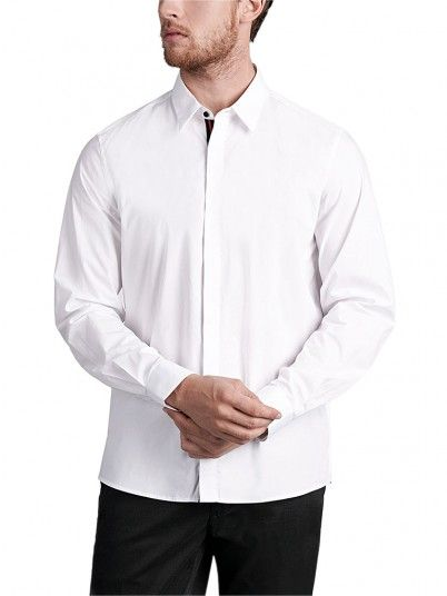 Shirt Man White Antony Morato