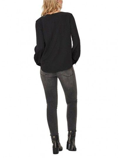 Camisa Mujer Negro Vero Moda