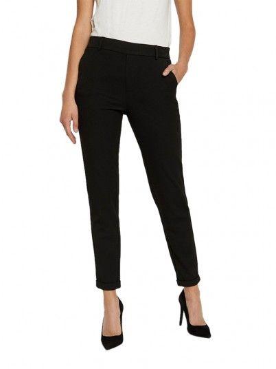 Pants Woman Maya Black Vero Moda