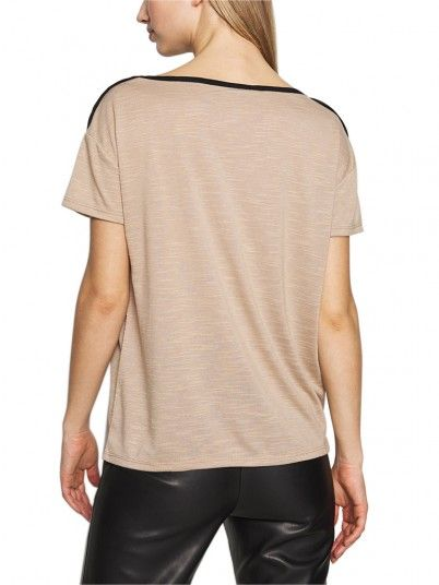 T-Shirt Mulher Tess Vero Moda