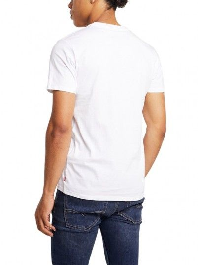 T-Shirt Man Graphic Cream Levis