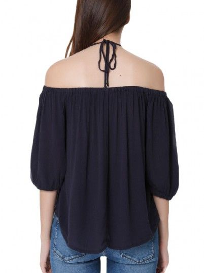 Shirt Woman Karmen Black Only