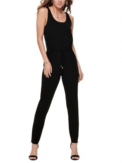 Overalls Woman Bell Black Jacqueline di Young