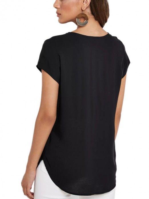 Blusa Mujer Boca Negro Vero Moda