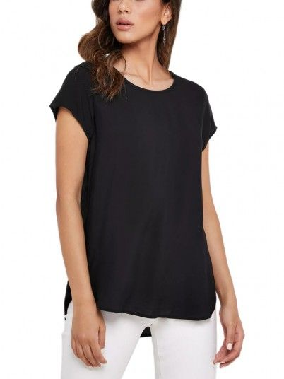 Shirt Woman Boca Black Vero Moda