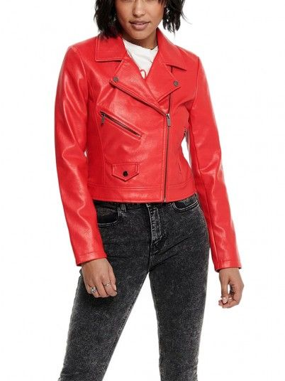 Jacket Woman Red Only