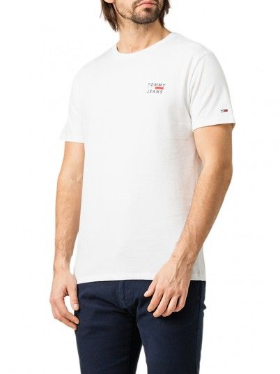 T-Shirt Man White Tommy Jeans