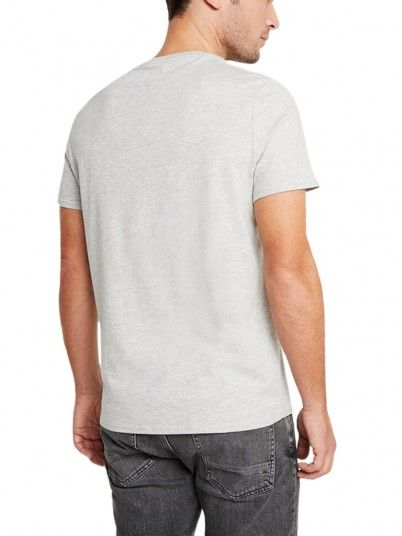 T-Shirt Man Grey Guess