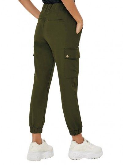 Pantaloni Donna Glowing Verde Only
