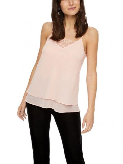 Blusa Mujer Rosa Pieces