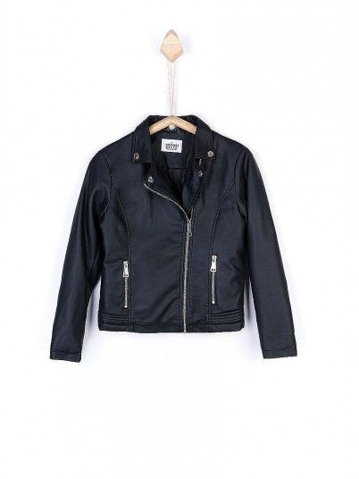 Jacket Girl Black Tiffosi Kids