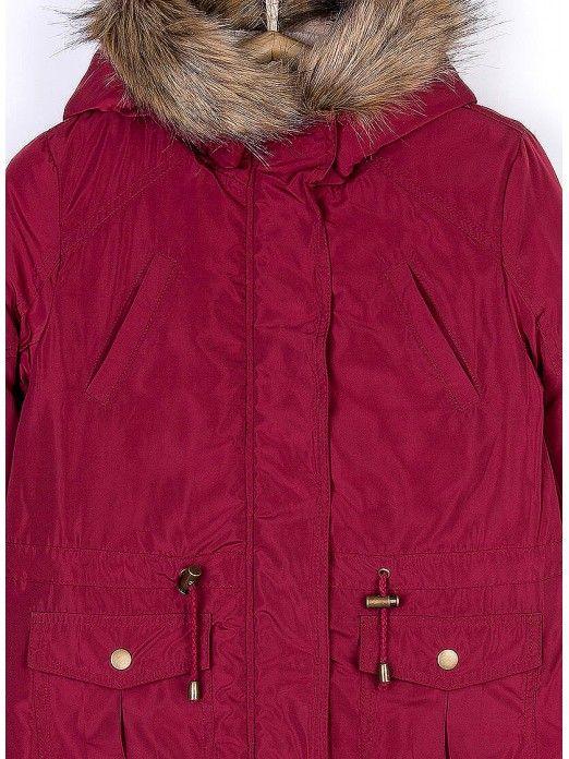 Jacket Girl Bordeaux Tiffosi Kids