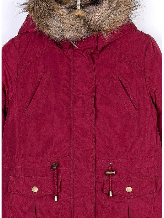 Jacket Girl Bordeaux Tiffosi Kids