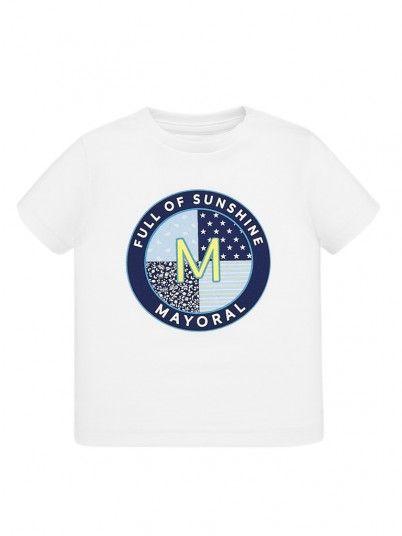 T-shirt desenho bebé menino Mayoral